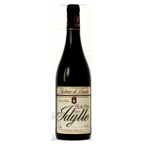 Arbin Mondeuse - Chartreuse de Lourdens - vin de Savoie - Domaine de l'Idylle